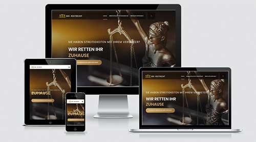 Webdesign SOS Mietrecht