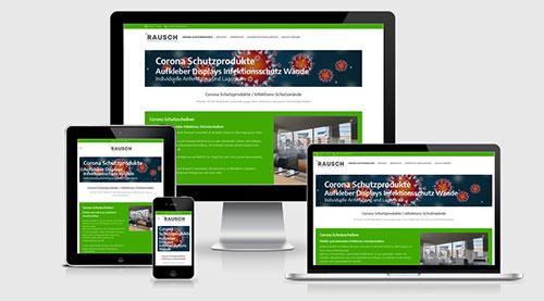 Corona Website