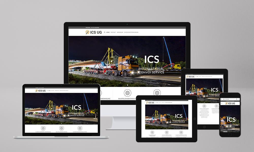 Webdesign Homepage Erstellung